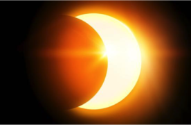 Shedding Light on the New Moon Solar Eclipse